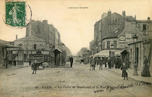 octroi de Montreuil 1909